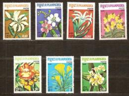 Kampuchea 1984 Yvertnr. 477-83 *** MNH Cote 12,00 Euro Flore Bloemen Flowers - Kampuchea