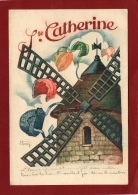 SAINTE CATHERINE MOULIN DENTELLE BONNET - Firstnames