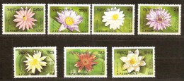 Kampuchea 1989 Yvertnr. 863A-63G *** MNH Cote 6,25 Euro Flore Bloemen Flowers - Kampuchea