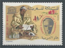 Morocco, Education Year, 1970, MNH VF - Morocco (1956-...)
