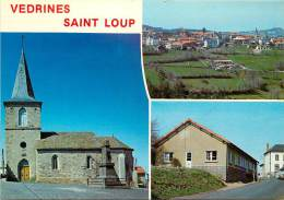 VEDRINES SAINT LOUP CARTE MULTIVUES - Frankreich
