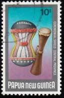 PAPUA NEW GUINEA - Scott #604 Ceremonial Shields / Used Stamp - Papua Nuova Guinea