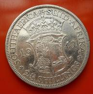 South Africa 2 1/2 Shillings 1942 Silver - Afrique Du Sud