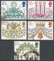 Great Britain. 1980 Christmas. Used Complete Set. SG 1138-1142 - 1952-.... (Elizabeth II)