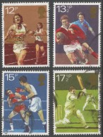 Great Britain. 1980 Sporting Centenaries. Used Complete Set. SG 1134-1137 - 1952-.... (Elizabeth II)