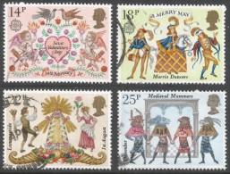 Great Britain. 1981 Folklore. Used Complete Set. SG 1143-1146 - 1952-.... (Elizabeth II)