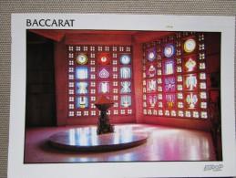 54120 Baccarat. Vitraux En Cristal De L'eglise Saint Remy - Baccarat