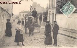 FONTENAY-SOUS-BOIS RUE EMILE ROUX ATTELAGE PERNOT 94 - Fontenay Sous Bois