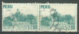 PERU 1952-53: YT 435, O - FREE SHIPPING ABOVE 10 EURO - Peru