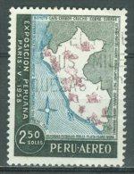 PERU - AEREO 1958: YT PA 141, O - FREE SHIPPING ABOVE 10 EURO - Peru