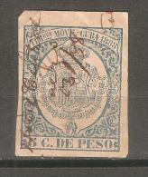 Impuesto Cuba. - Cuba (1874-1898)