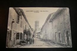 MONTFORT Du GERS. Rue Saint Roch Et Clocher. - France