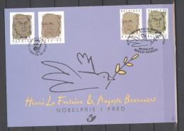 België/Belgique 1999 - 2838HK 2838 België/Zweden - Belgique/Suède  Cote € 8,50 - Cartes Souvenir