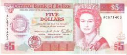 Belize - Pick 53 - 5 Dollars 1991 - Unc - Belize