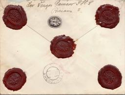 SERBIEN 1925 / Siegelbrief 2 X 5 D Pancevo - Lassnitzhöhe - Serbien