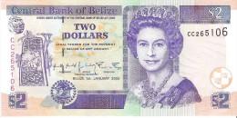 Belize - Pick 60 - 2 Dollars 2002 - Unc - Belize