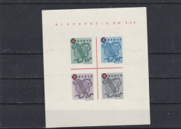 "Allemagne Occupation  Baden (1949) - ""Croix-Rouge"" Neuf Toujours Sans Gomme - Zone Française"