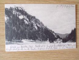 AK Um 1900/10, GRUSS AUS REUTTE, EHRENBERGER KLAUSE - Reutte