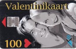 Estonia, ET 076, Valentine's Day, 100 Kr, 2 Scans. - Estonie
