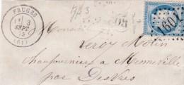 FRAGMENT     GC   1601   FRUGES    ( 61 )   PAS DE CALAIS    - REF 8133 -Variété - Marcophilie (Timbres Détachés)