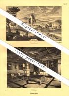 Photographien / Ansichten , 1927 , Schloss Goldenberg , Elgg , Prospekt , Architektur , Fotos !!! - ZH Zurich