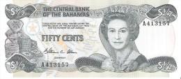Bahamas - Pick 42 - 1/2 Dollar 1984 - Unc - Bahamas