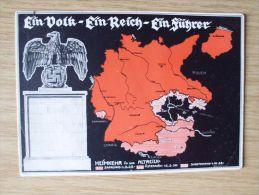 25.11.1938, SUDETENLAND, SONDER-PK EIN VOLK-EIN REICH-EIN FÜHRER, HEIMKEHR INS REICH, BEFREIUNGSSTEMPEL Von PLAW - Ocupación 1938 – 45