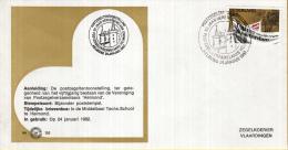 """Nederland – Zegelkoerier Gelegenheidsstempels – 50-jarig Bestaan Ver. Van Postzegelverzamelaars """"Helmond"""" - - Esposizioni Filateliche"""