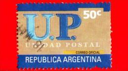 ARGENTINA - Usato - 2002 - U.P. - Unione Postale - Unidad Postal - 50 - Argentina