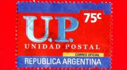 ARGENTINA - Usato - 2002 - U.P. - Unione Postale - Unidad Postal - 75 - Argentina