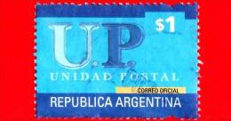 ARGENTINA - Usato - 2002 - U.P. - Unione Postale - Unidad Postal - 1 $ - Argentina