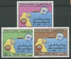Kuwait 1983 Internationaler Tag der Umwelt 1008/10 postfrisch