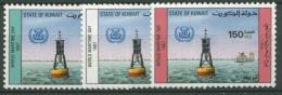 Kuwait 1987 Weltschiffahrtstag 1138/40 postfrisch