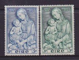 Ireland Scott  151-52 Xmas  1954  VF   CV 9.10 - 1949-... Republic Of Ireland