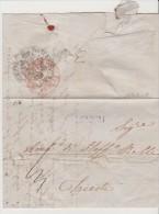 Greece Austria Levant Turkey 1842 Salonich To Trieste Austria Via Semlin - NETTO DI FUORA ET DI DENTRO - Levant - Turkey