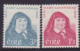 Ireland Scott  167-68 Aikenhead  MNH  VF    ( CV 21.50 - 1949-... Republic Of Ireland