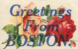Greetings From BOSTON - Boston