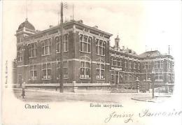 67237) Cartolina Di Charleroi-ecole Moyenne -viaggiata - Charleroi
