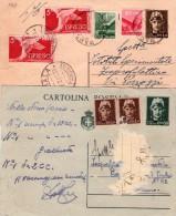 ITALIA  Intero Postale  Luogotenenza   Lotto 2  Interi Postali - 6. 1946-.. Repubblica