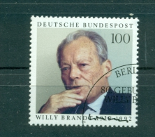 Allemagne -Germany 1993 - Michel N. 1706 -  Willy Brandt - [7] République Fédérale