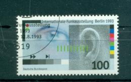 Allemagne -Germany 1993 - Michel N. 1690 - IFA Berlin - [7] République Fédérale