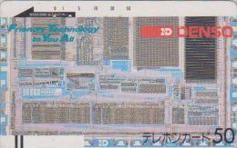 Télécarte Ancienne Japon / 110-4610 - Japan Front Bar Phonecard / B - Balken Telefonkarte - Japan