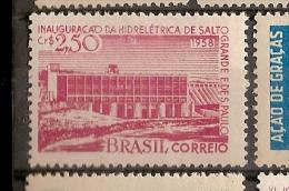 Brazil * & Hydropower Opening Of Salto Grande, Sao Paulo 1958 (648) - Fabbriche E Imprese