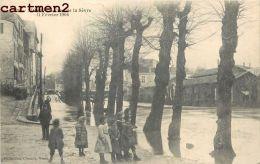 NIORT LA CRUE DE LA SEVRE 11 FEVRIER 1904 INONDATIONS 79 - Niort