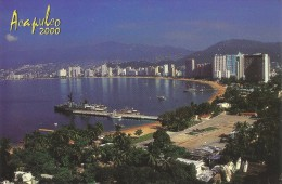 PP49 - POSTAL - ACAPULCO - MEXICO - PANORAMICA DE LA BAHIA - México