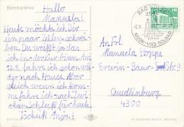 K3801 - DDR (1986) Bad Sulze: Salt and mud baths (postcard: Bernhardiner)