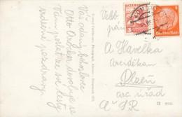 K3812 - Austria (1938) Admont (postcard: Admont) Mixed Franking German And Austria Stamps! - 1918-1945 1. Republik