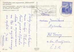 K3816 - Austria (1964) Ebensee: Ebensee - Feuerkogel 1625m (postcard)