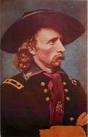 241285-General George A. Custer, Civil War Officer, Christen Studio By Dexter Press No 866-C - Militaria