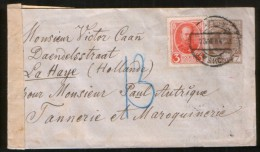 Russia 1914 Stationery Cover St. Petersburg, Censorship Torneo (russ. Finland) - Covers & Documents